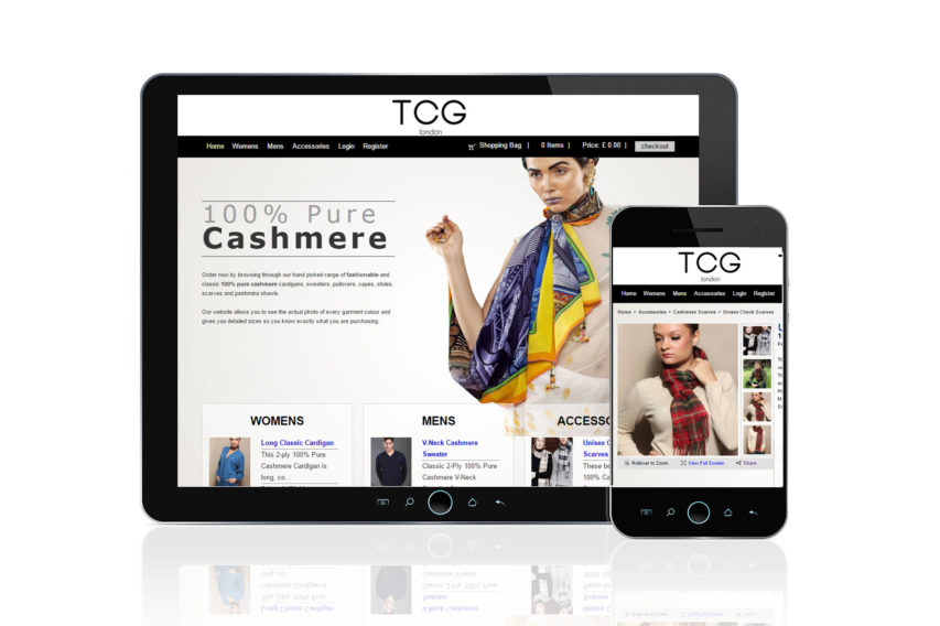 Fashion Retail Ecommerce website
