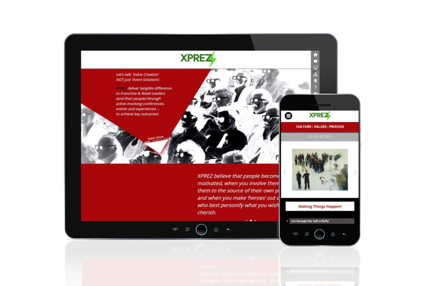 XPREZ: Website Design