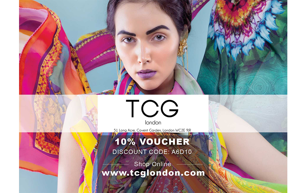TCG London Voucher Design