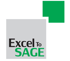 excel to sage