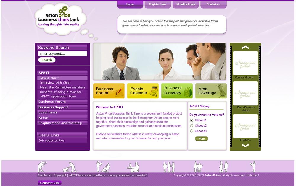 APBTT WEBSITE DESIGN